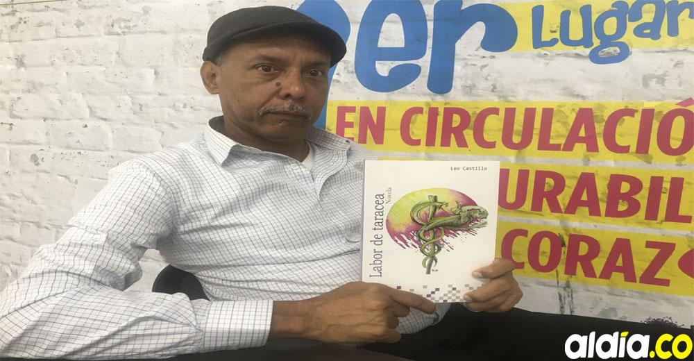 Así registró El Heraldo el hecho (izq.). Portada de la novela diseñada por Leo Castillo(der.).