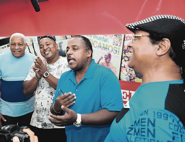 Los cubanos estrenarán en Barranquilla su nuevo álbum 'Aragoneando'. | Foto: AL DÍA