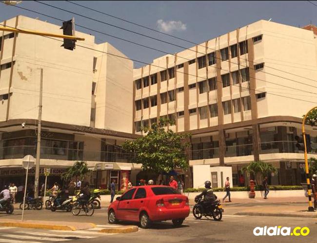 Edificio Galaxia, donde hacen la audiencias en Santa Marta.