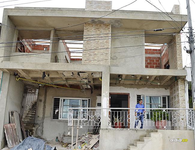 Hasta esta casa del barrio Florencia en Sincelejo han ido varias veces los delincuentes.   AL DÍA
