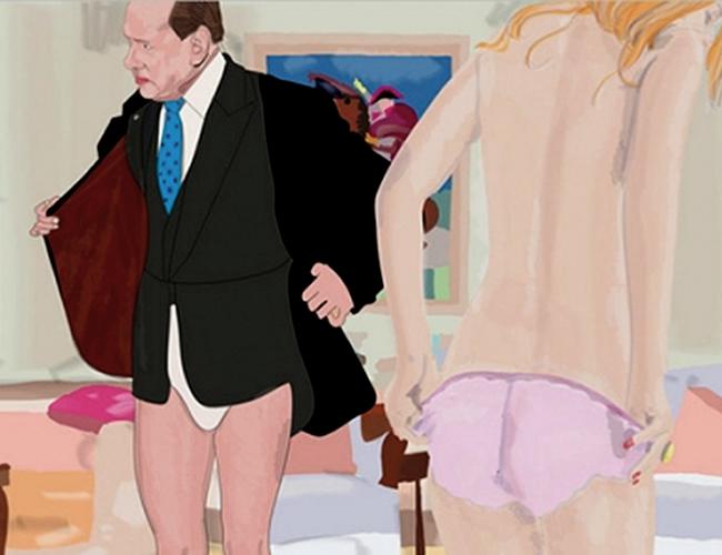 Silvio Berlusconi es famoso por sus fiestas sexuales y por contratar prostitutas | Foto: Illustrationage