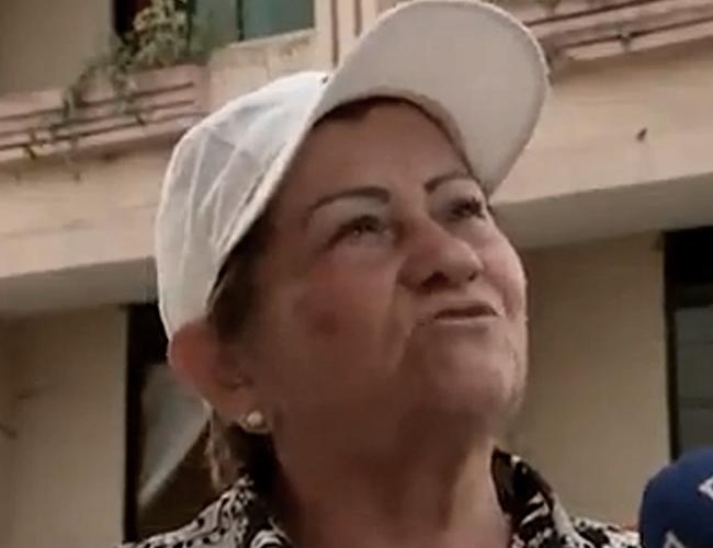 Rosalba de 64 años ha sobrevivido a 3 movimientos telúricos. | Foto: RCN