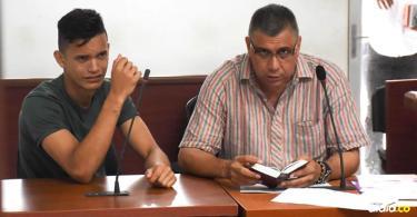 Luis Carlos Maestre Páez en audiencia. | Al Día