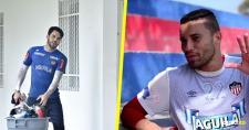 Sebastián Viera y José Luis Chunga, los principales arqueros de Junior. | AL DÍA