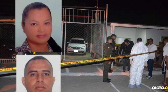 Soraya Baquero y Joaquín de Jesús Gutíérrez, muertos. | Cortesía