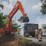 Avanzan obras en proyecto Puerta de Hierro – Palmar de Varela y Carreto – Cruz del Viso