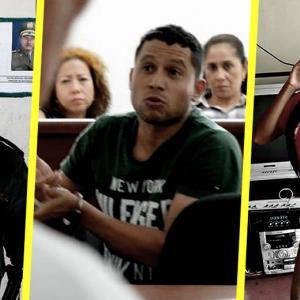 Rúa Rodríguez prestó servicio en la Policía del Cesar. La joven Gabriela Andrea | ALDÍA.CO