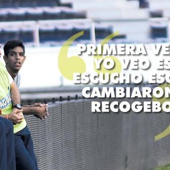 Alexis Mendoza ajusta los últimos detalles para el compromiso de vuelta del domingo en Medellín en busca de la octava estrella | Foto: Cristian Mercado y Giovanni Escudero