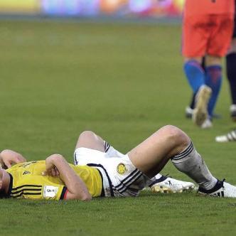 James Rodríguez se quejó del terreno de juego y recordó que la advertencia se viene haciendo desde hace tiempo | Universo
