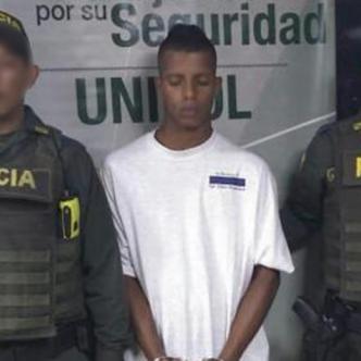 Devanis Antonio García De la Rosa, alias 'Chopito', capturado | Cortesía