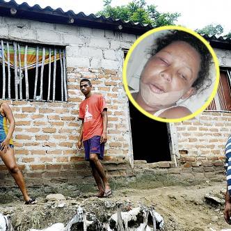 En esta casa ocurrió la agresión de Rafael Rojano contra su excompañera Yulimar Gennis De La Hoz.