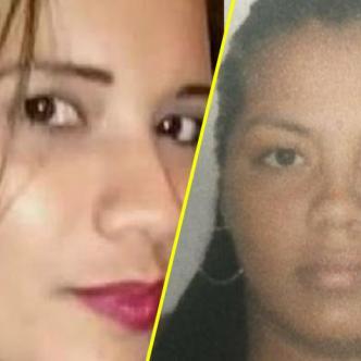 La víctima, Merly Ibáñez García (i), y la presunta agresora, Yildred Patricia Rúa Orellano (d) | Cortesía