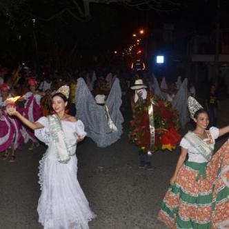 Alborada del 20 de Enero en Sincelejo. | Ernesto Benavides Sierra.