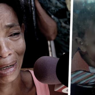 Paola Anaya Herrera, de 33 años, sumida en el dolor antes de que su hijo de 9 meses apareciera | Al Día