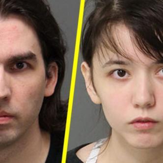 Steven y Katie Plads, padre e hija acusados de incesto. Foto tomada de: WNCN