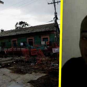 Según testigos, el pistolero llegó y salió por esta calle, en el Barrio Abajo | AL DÍA