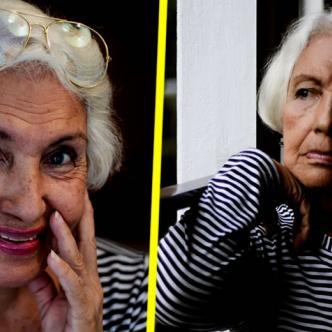 Dalia, la abuela del joven | Twitter de Bryan Barradas