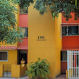 En el apartamento 401 del bloque 106, de la Ciudadela Metropolitana ocurrió el homicidio de Roque Núñez Suarez | AL DÍA