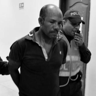 Momentos en que llevaban a José Luis para la cárcel. | AL DÍA