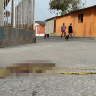 Lugar donde fue atacada a tiros la víctima. | Johnny Olivares