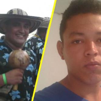 Diego Fuentes Vásquez, comerciante asesinado y Michael Oneal Gómez Ocando, venezolano asesinado. | Al Día