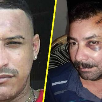 Kevin Estrada (primera foto) murió de manera instantánea. Elkin Vallejo Mercado se salvó de milagro. | Al Día