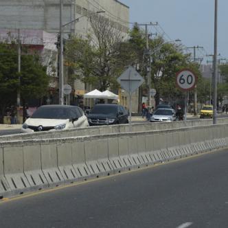 El arrollamiento que le causó la muerte a Deivis Villegas Vidal ocurrió en este sector de la Vía Circunvalar.