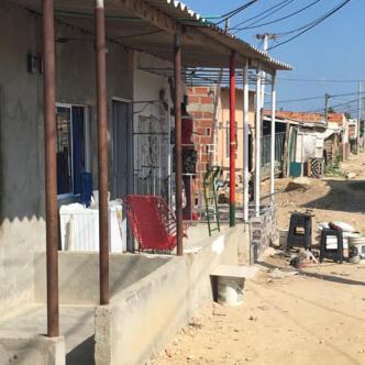 En esta calle del barrio Pinar del Río en la transversal 34B con diagonal 140, fue asesinado Iván Manuel Pérez Rico.