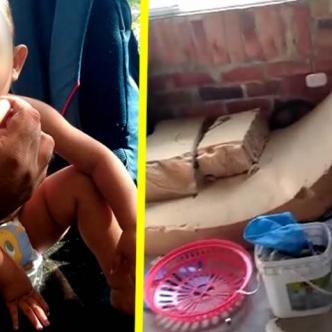 El niño fue entregado a una comisaría de familia   Al Día