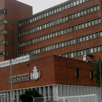 En la clínica San Rafael, en Bogotá   Mapio.net