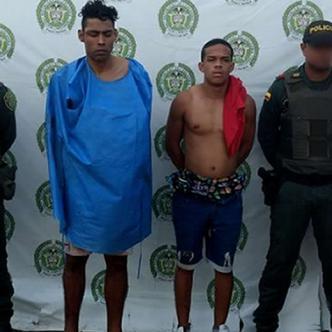 Guillermo Jaramillo Ríos y Gilberto Emilio Caicedo Arrieta fueron detenidos, el primero en una clínica y el otro en El Parque | José Puente y Cortesía
