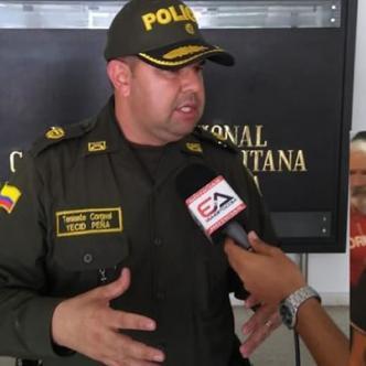 Yecid Peña, comandante operativo de la Policía Metropolitana de Barranquilla.   Al Día