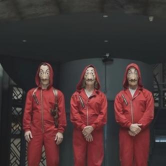 Imágenes 'La Casa de Papel' I Captura Trailer Netflix