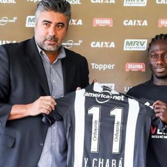 El delantero colombiano Yimmi Chará portará el número 11 en el Atlético Mineiro. | Cortesía