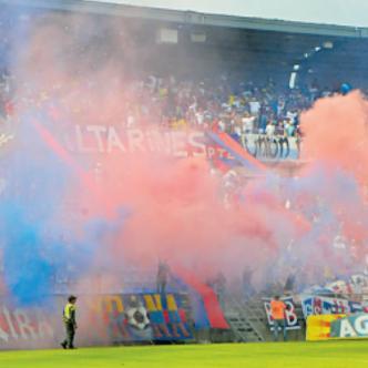 El estadio Sierra Nevada, en Santa Marta, se ha convertido en el fortín del Unión Magdalena. Acumula 13 partidos de invicto como local, con 12 victorias y un empate.
