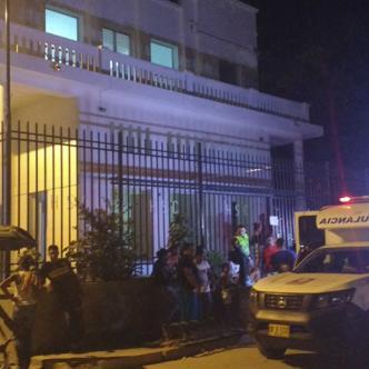 Elmar Sanguino Acosta, de 44 años, fue operado en el hospital de Ciénaga después que le dieran cinco tiros al oponerse a un robo en la Zona Bananera. | Draco y Cortesía