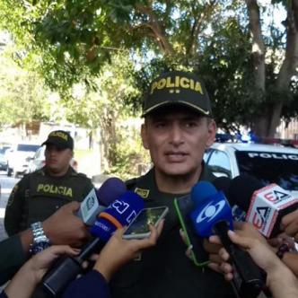 General Mariano Botero Coy, comandante de la Policía Metropolitana de Barranquilla | Johnny Olivares