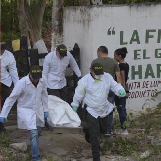 Finca El Gran Chaparral y las víctimas del múltiple crimen en Las Terrazas (recuadro). | Jhonny Olivares y Cortesía