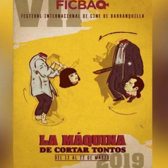 Afiche promocional del Festival Internacional de Cine de Barranquilla. | Cortesía