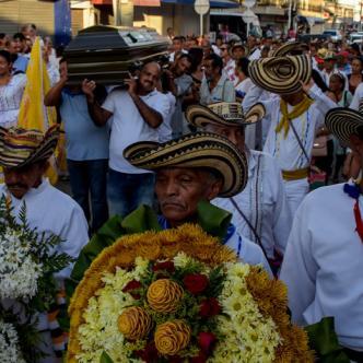 En el camino al Cementerio Central reinó la cumbia | Jesús Rico