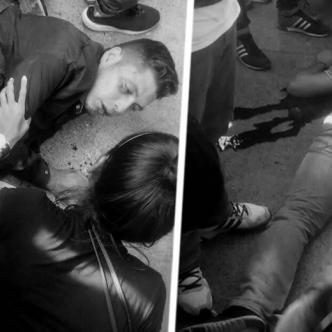 Los dos tipos fueron trasladados a diferentes clínicas de la ciudad | Archivo