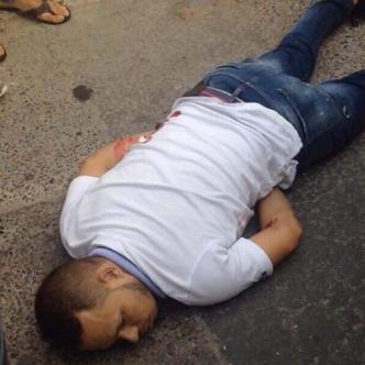 Las víctimas mortales fueron identificadas como Vicent Olivos González y Dusty Flórez Bolaños. | Cortesía