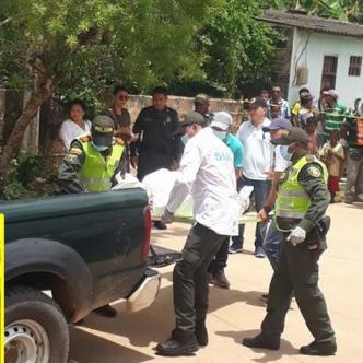 La Sijín de la Policía Nacional se encargó de la inspección del cadáver y de su traslado a la sede de Medicina Legal. | Al Día