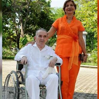 Hernando García, junto a su esposa Luz Hoyos. | Al Día