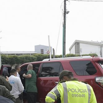 Sijin requisó la camioneta en la que movilizaron a los Vega Daza. | Al Día