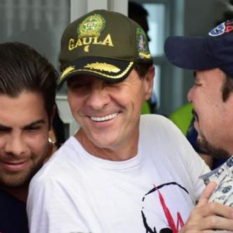 Rodolfo 'Fito' Acosta en su residencia en el norte de Barranquilla.   Al Día