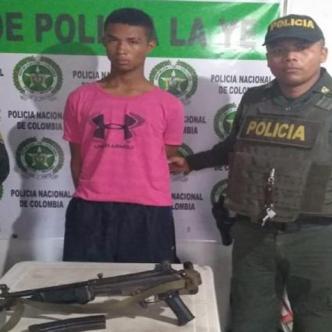 Daniel Eduardo Jiménez Pineda, capturado. | Cortesía