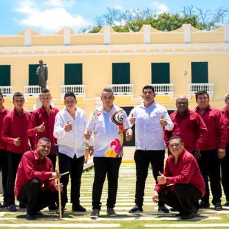 La agrupación Los Hijos del Gallo Giro se destaca por interpretar música netamente folclórica. | Cortesía