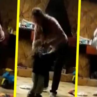 El video se volvió viral, llegó hasta las autoridades, quienes capturaron a la mujer, le quitaron la custodia del pequeño y se lo entregaron a su padre biológico   Clarín