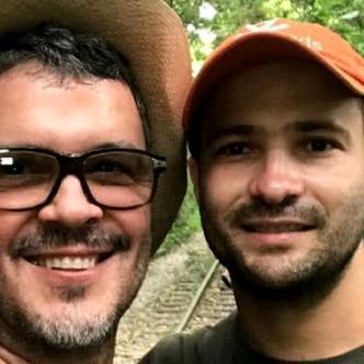 Guillermo Vives y su esposo José Maya I Instagram